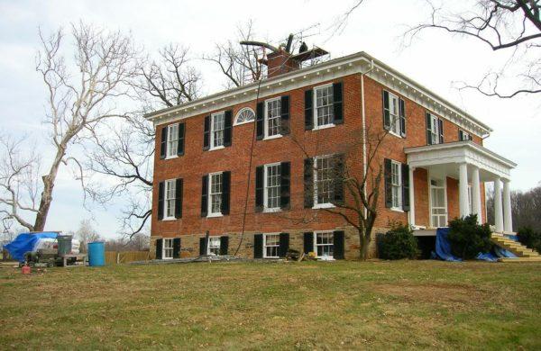 historical chimney renovation